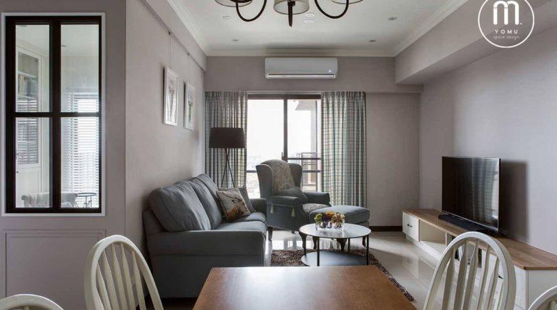 【甜而不膩美式宅邸】 /竹北室內設計