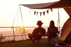 苗栗泰安花石間景觀露營區,露營地,夕陽