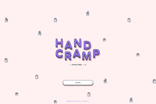 「HandCramp」線上猜拳遊戲